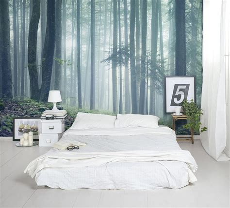 forest wallpaper for bedroom the forest glade wallpaper mural forest wallpaper
