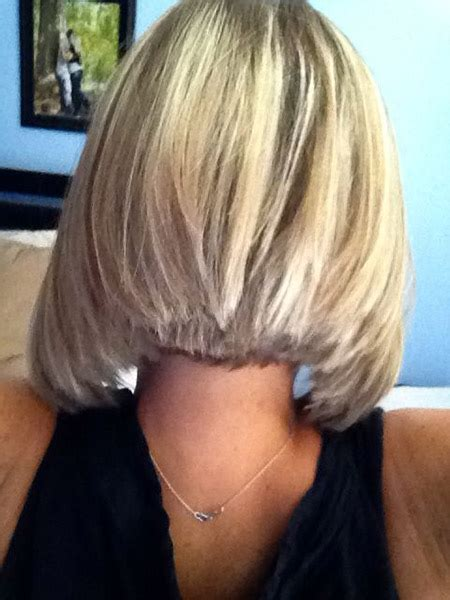 hair styles shorter in back longer in front with layers in front long in back short bob hairstyles