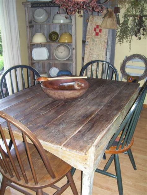 Primitive Dining Room Tables A Primitive Place Primitive Amp Colonial Inspired Dining Rooms