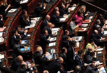 in diretta dalla dei deputati diretta la votazione della sfiducia a caliendo
