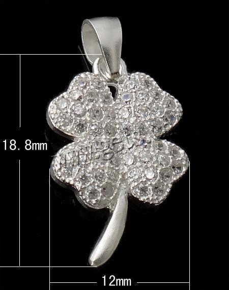 Silver Evil Eye 13 5mm Pendant sterling silver clover pendant 925 sterling silver four