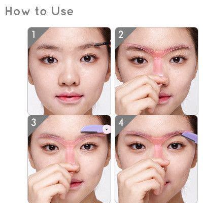a visual guide to eyebrow shapes skin food honey pot lip balm etude house minis and brows