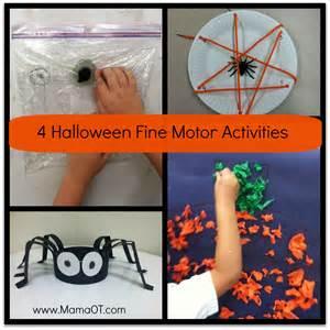 halloween activities for preschoolers 4 halloween fine motor activities mamaot