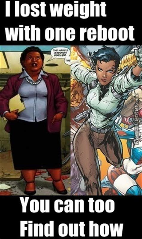 Dc Comics Memes - skinny or fat amanda waller for suicide squad movie gen