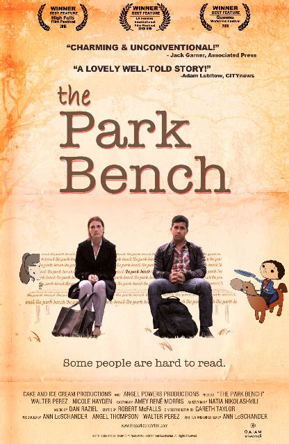 park bench movie interview with actress nicole hayden on the park bench