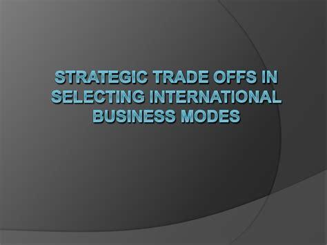 Mba International Business Strategy by International Business