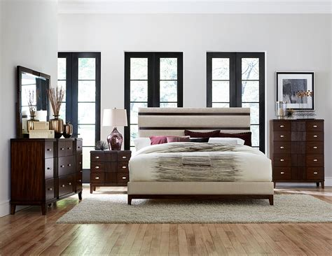 homelegance bedroom set homelegance pelmar upholstered bedroom set dark walnut