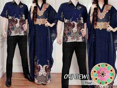 Maxi Dewi Toska gamis batik dewi cp183 kaftan pesta muslim