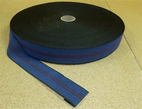 metres blue  elasticated upholstery webbing  chairs seats furniture ellbee fabrics