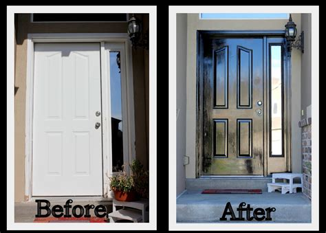paint a front door keeping up with the kitchen mom how to paint the front door