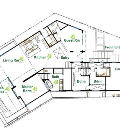 eco friendly floor plans new sustainable home floor plans new home plans design