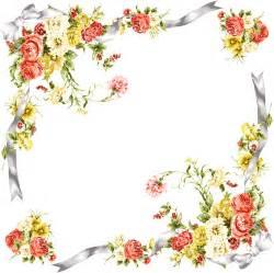 Cornice Corners Pin Render Cadre Ornement Fleurs Nature Autresinconnu Png