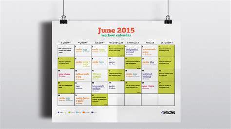 june 2015 calendar hair styles blog june 2015 workout calendar