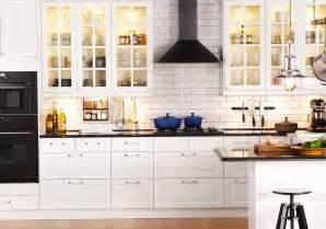 Ikea kitchens through the front door