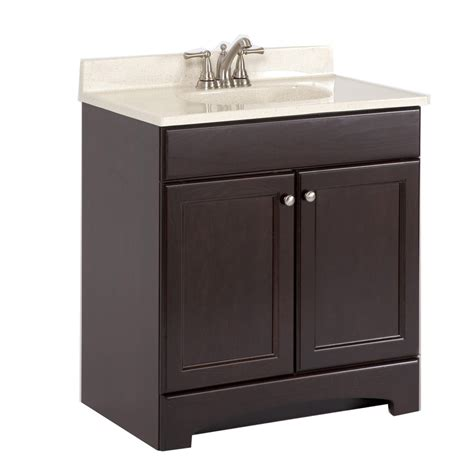 30 x 18 bathroom vanity shop style selections 30 6 in x 18 7 in cocoa integral
