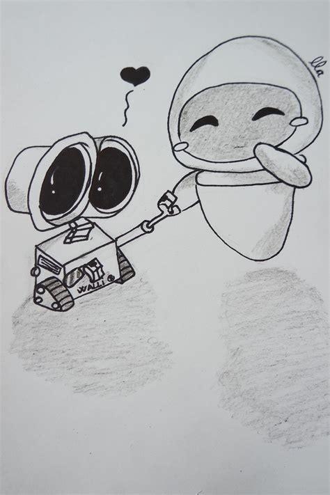 imagenes de amor wall e dibujo walle y eva youtube