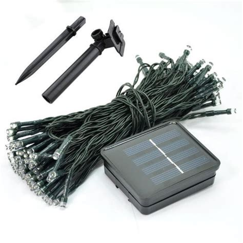 solar mini string lights m t tech 60 led solar powered mini string lights outdoor