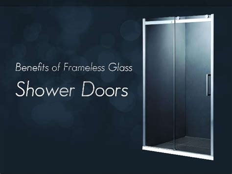 Benefits Of A Shower by Benefits Of Frameless Glass Shower Doors