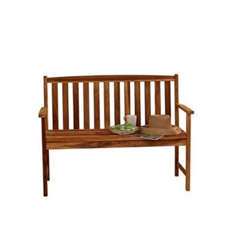 4ft garden bench buy alexander rose acacia monte carlo garden bench 4ft