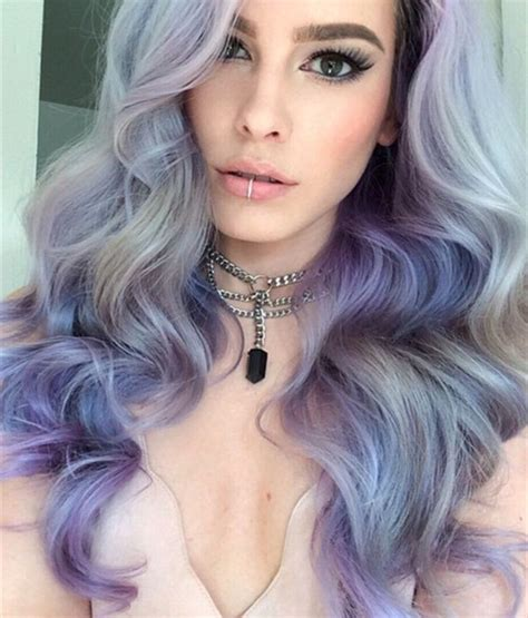 hairstylesanddyes com trendy grey hair color ideas for sizzling girls