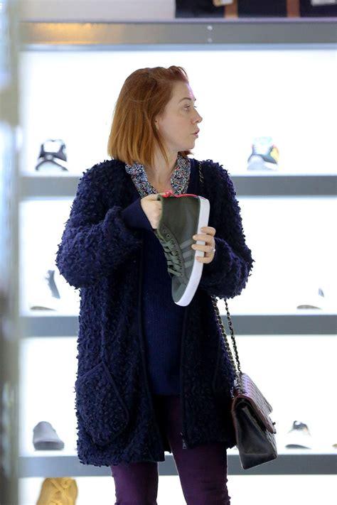 Style Alyson Hannigan by Alyson Hannigan Style Shopping In Los Angeles