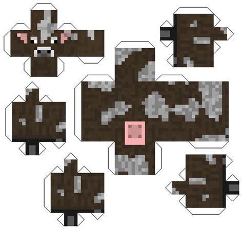 Minecraft Papercraft World - personaje armable cumple de minecraft