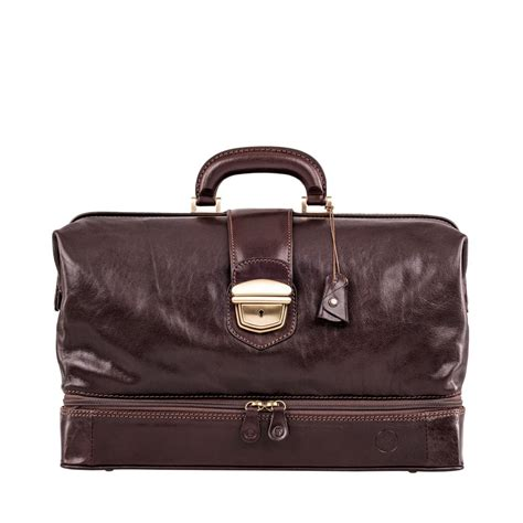 Doctor Bag the donninil large leather doctor bag