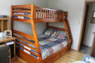 plans for twin over queen bunk bed quick woodworking projects