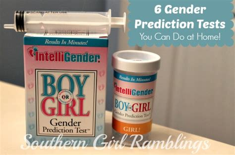 6 gender prediction tests you can do at home southern