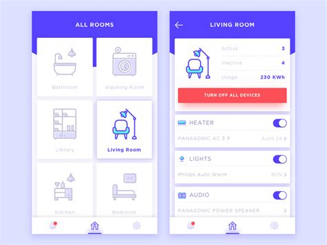 smart home apps by ibnu ud dribbble