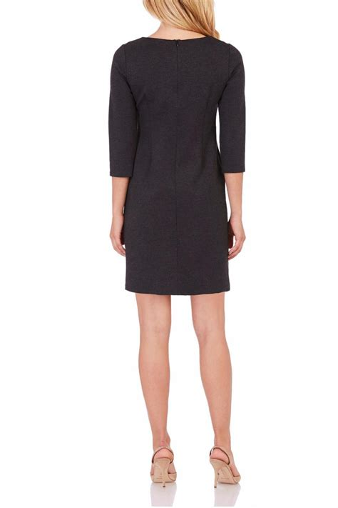 Dress Of The Day Black Ponte Shift Dress At Debenhams by Jude Connally Ponte Shift Dress From Pennsylvania By