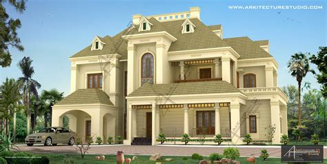 kerala home design colonial colonial style house designs in kerala at 3500 sqft 5000
