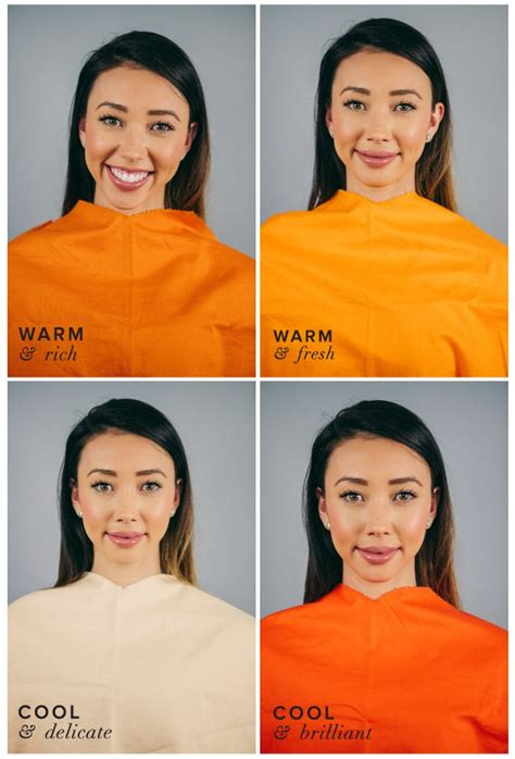 warm orange best worst colors for autumn seasonal color analysis