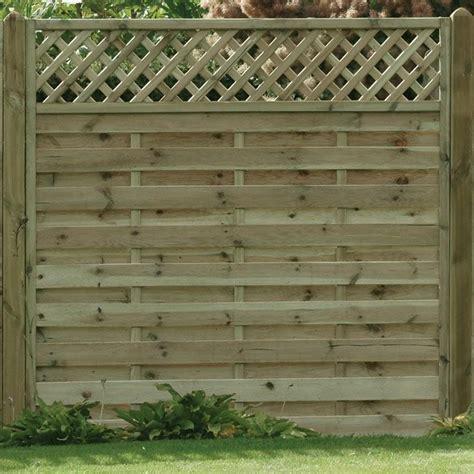 Horizontal Trellis Panels Horizontal Lattice Top Fence Panels Solihull Tel 01564