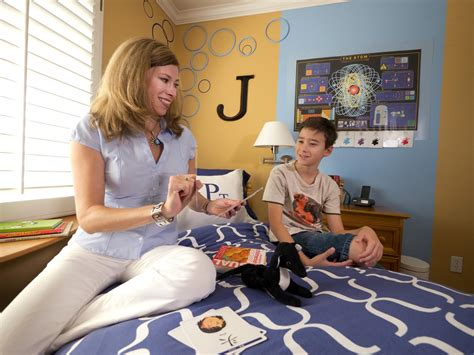 mother and son bedroom scene mom son bedroom small boy s room with big storage needs