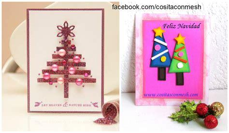 imagenes de tarjetas navideñas para hacer con niños ideas para hacer una postal navidea aqu os dejo algunas