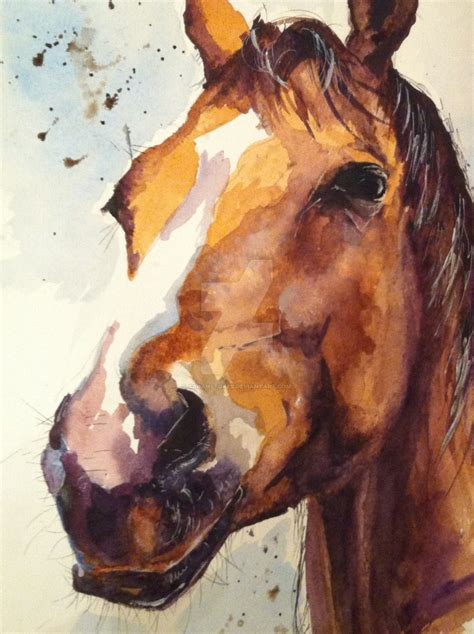 free animal painting watercolour by sarahstokes on deviantart