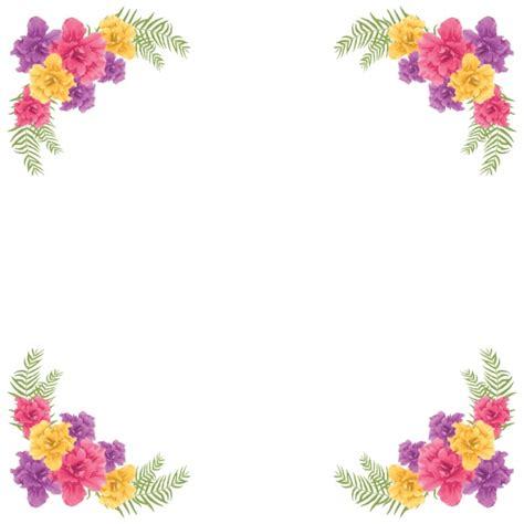 frame design flower floral frame design vector free download