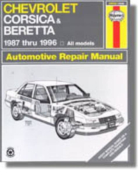 haynes chevy corsica beretta 1987 1996 auto repair manual
