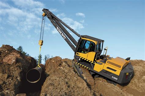 volvo takes pipe laying   level