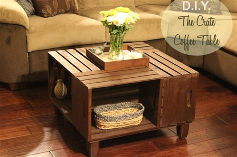 4 Crate Coffee Table Landing On D I Y Crate Coffee Table