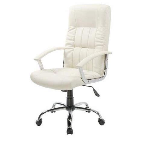 fauteuil de bureau blanc finlandek chaise de bureau laksyt simili blanc achat vente chaise de bureau blanc plastique