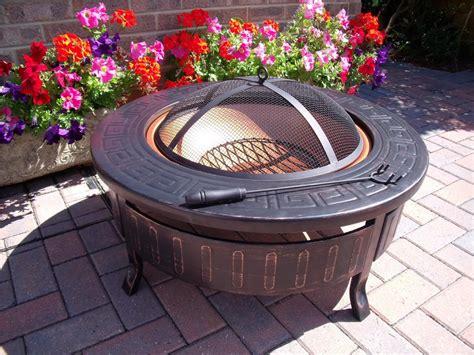 outdoor garden pit outdoor garden pit table bbq patio heater decking