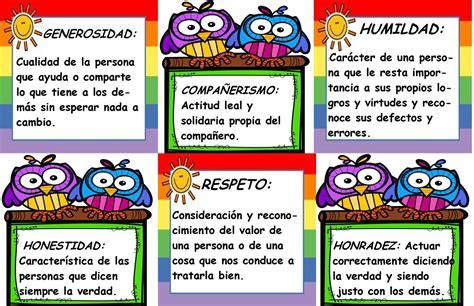 imagenes que representen los valores morales valores en el colegio educaci 243 n tic s y tips
