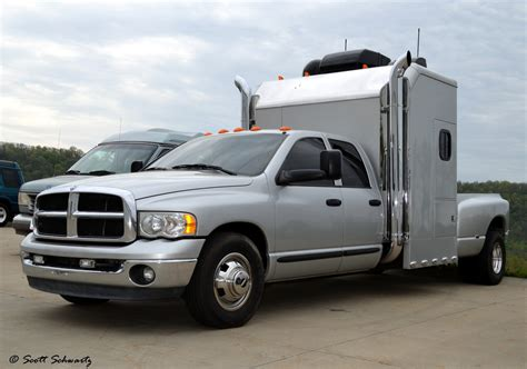 Dually Sleeper by Dodge Ram Dually With Sleeper Cab Scott597 Flickr