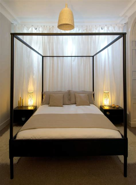 black canopy bed black canopy bed with steel frame interior design ideas