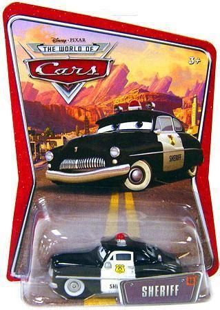 Diecast The World Of Cars Kualitas Bagus disney cars the world of cars series 1 world of cars sheriff 155 diecast car mattel toys toywiz