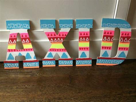 Alpha Xi Delta Letter Of Recommendation alpha xi delta tribal letters sorority crafts big