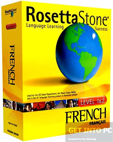 rosetta stone free rosetta stone french with audio companion free download