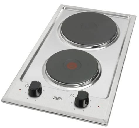 induction hob vs solid plate defy 300mm 2 plate solid hob defy appliances
